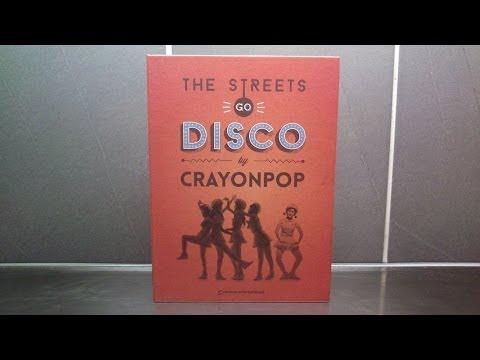 Unboxing Crayon Pop 크레용팝 2nd Mini Album The Streets Go Disco [Choa Version] Mp3