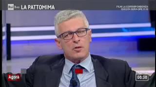 Nicola Morra (M5S) a Agorà 2/2/2018