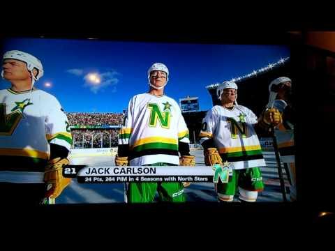 North Stars Alumni Game Introduction