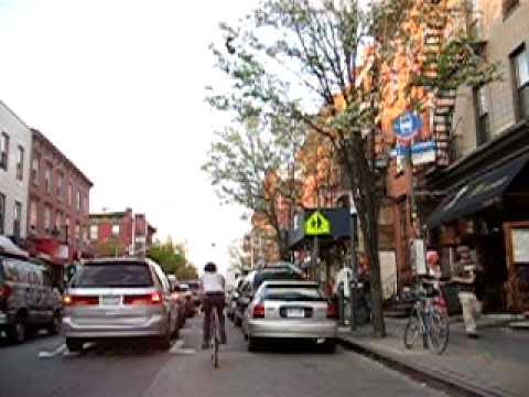 Bedford Avenue in Williamsburg, Brooklyn