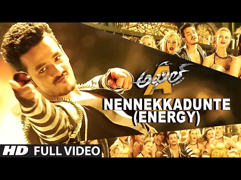 Nennekkadunte (Energy) Full Video Song || Akhil-The Power Of