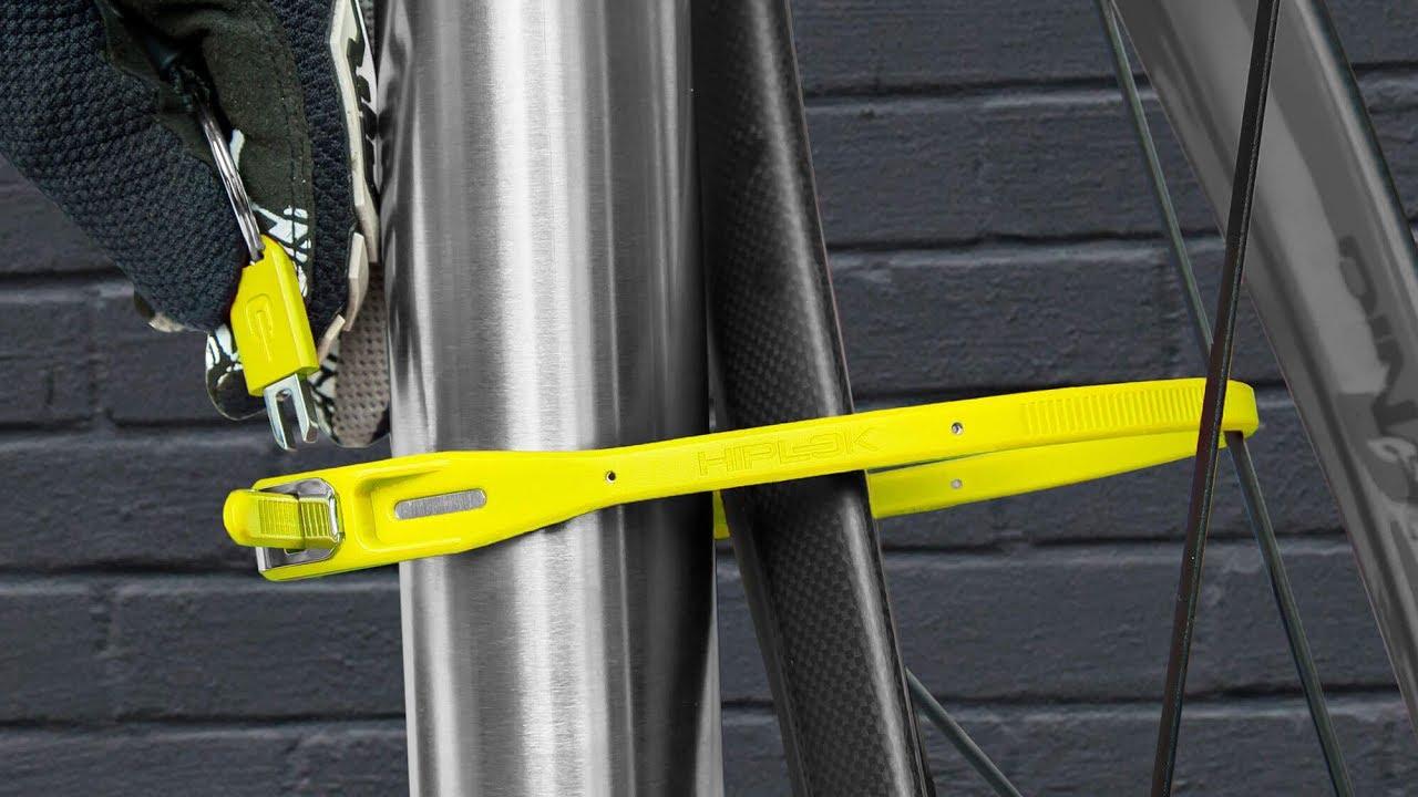 Hiplok Z-Lok Combo Cable Lock Single Yellow