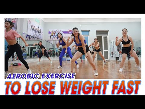 Aerobic Exercise To Lose Weight Fast | Zumba Class