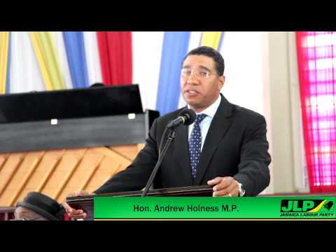 Holness Makes Public Apology to Arthur Williams And Dr. Chri