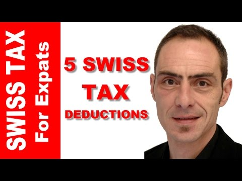 5 Swiss Tax Deductions You Should Know About