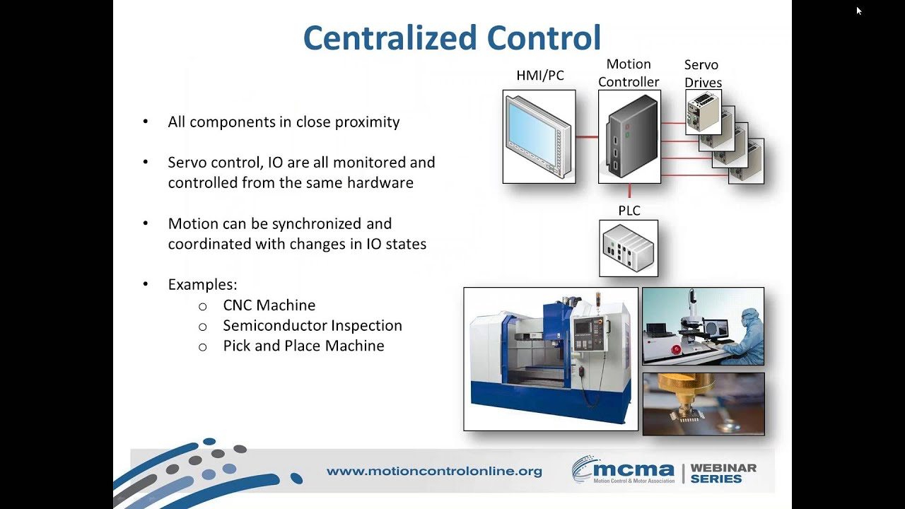 Ethernet or EtherCAT for Motion Control Webinar: Choosing the Right Network  for Your Applications