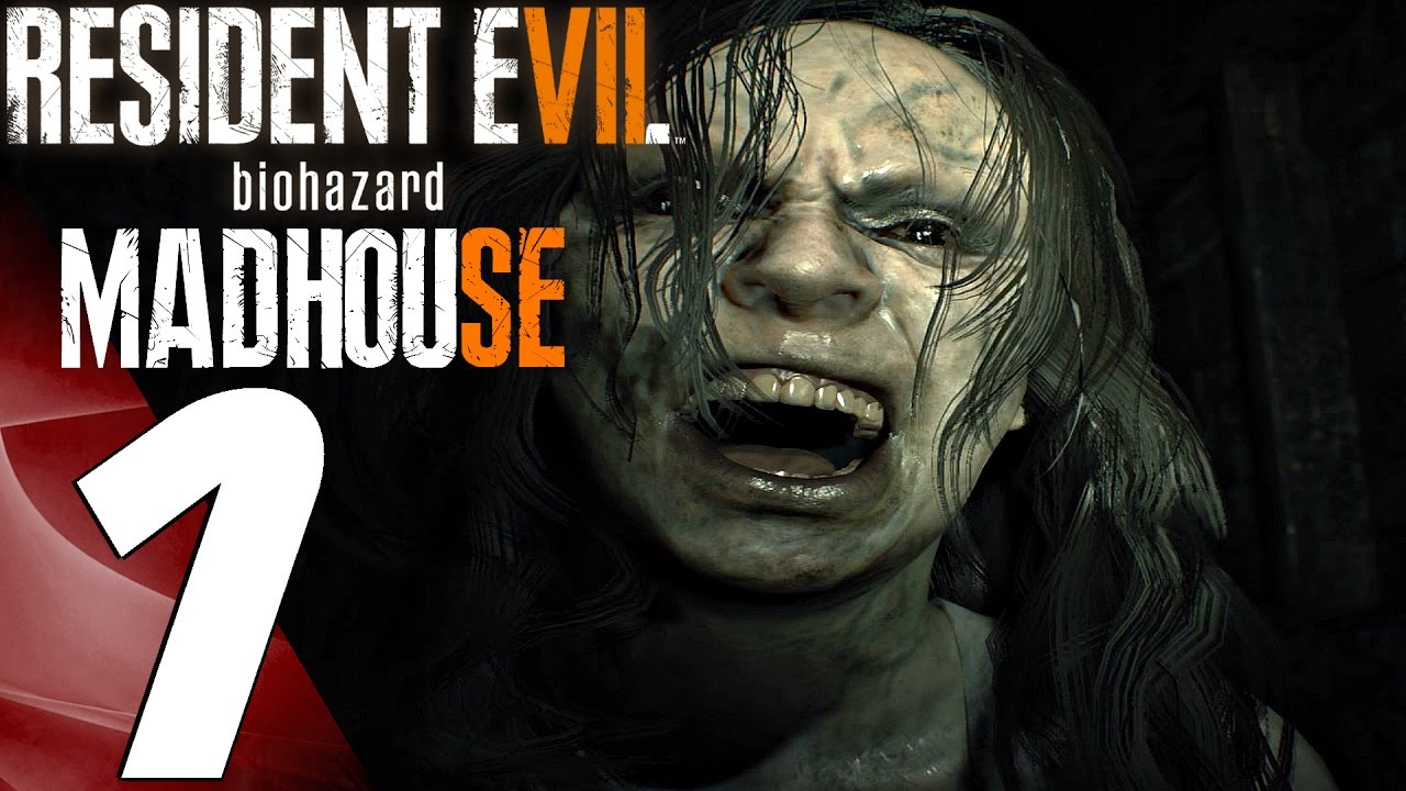 Resident Evil 7 Madhouse Mode Walkthrough Part 1 Mia Boss Fight Ps4 Pro Youtube