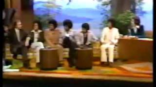 The Jacksons and Ed interviewed by Freddie Prinze