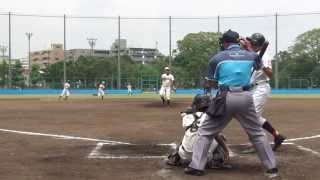 20130720 青葉台中学 vs 戸塚中学 (横浜市夏季総体決勝T)
