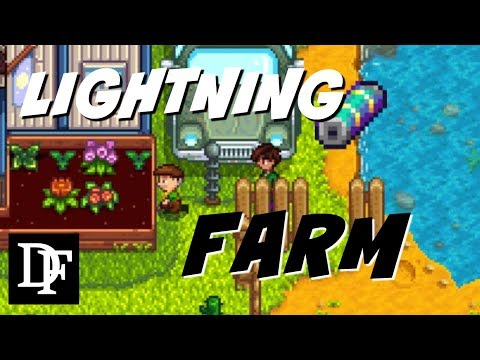 Lightning Rod Farm! + Giveaway!! - Stardew Valley Gameplay HD