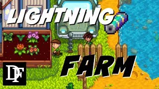 Lightning Rod Farm! + Giveaway!! - Stardew Valley Gameplay HD