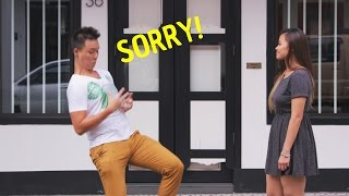 Situations Asians use SORRY too much!