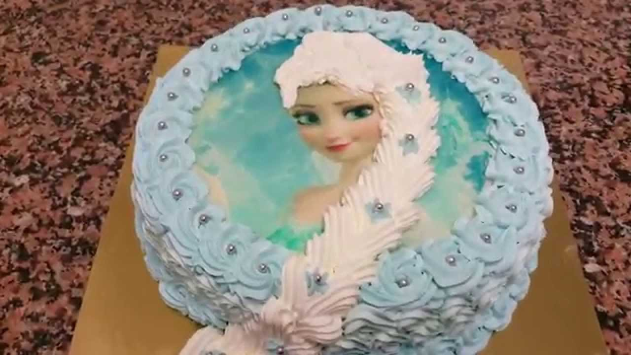 Gateau Frozen Gateau De La Reine Des Neiges Home Baking For You Blog Photo
