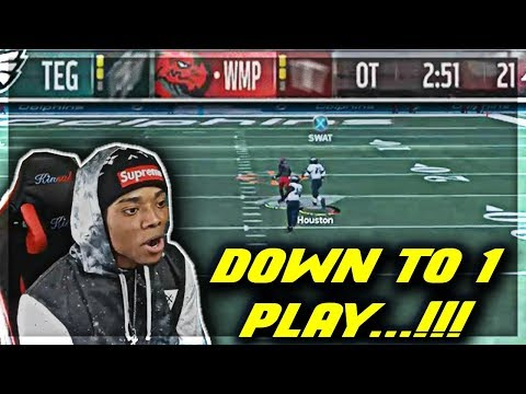 OVERTIME THRILLER! CLUTCH MASTER MELL?! | God Squad #52 | Madden 18 Ultimate Team | Jmellflo