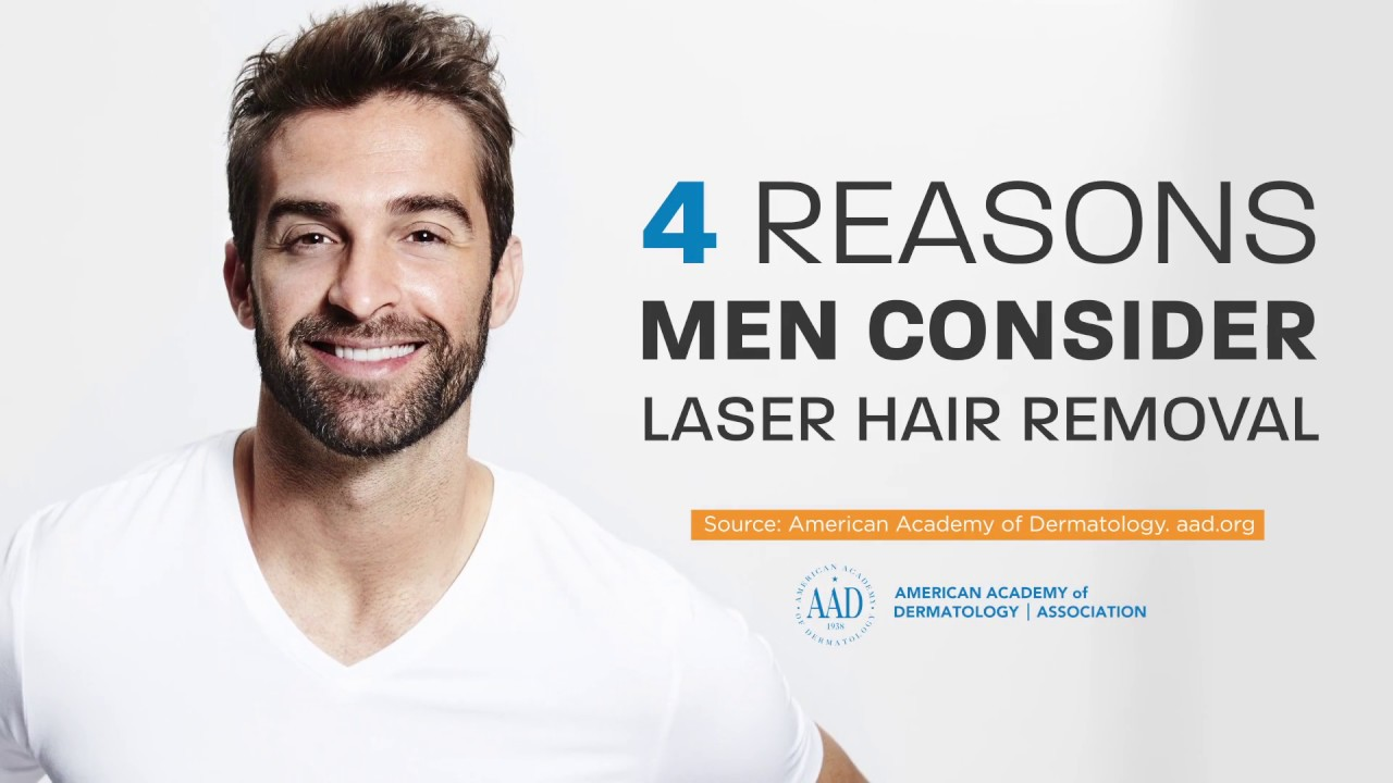 Laser Hair Removal For Men Youtube