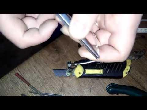 Как спаять серебряную цепочку