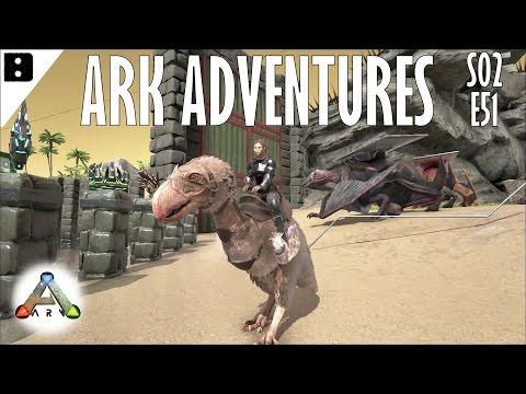 ARK Adventures S02E51 - Terror Bird and Grappling Hook Fun