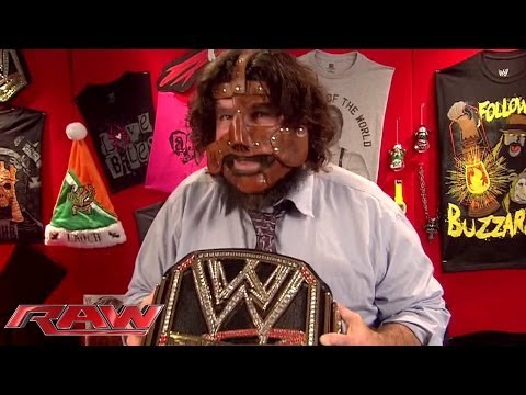 The Three Faces of Foley: Raw, Nov 25, 2013