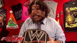 The Three Faces of Foley: Raw, Nov. 25, 2013