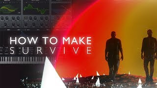 HOW TO MAKE:Don Diablo - Survive feat. Emeli Sandé & Gucci Mane [Remake]