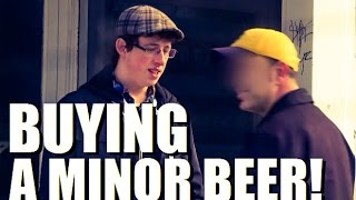 UNDERAGE BEER BUY PRANK