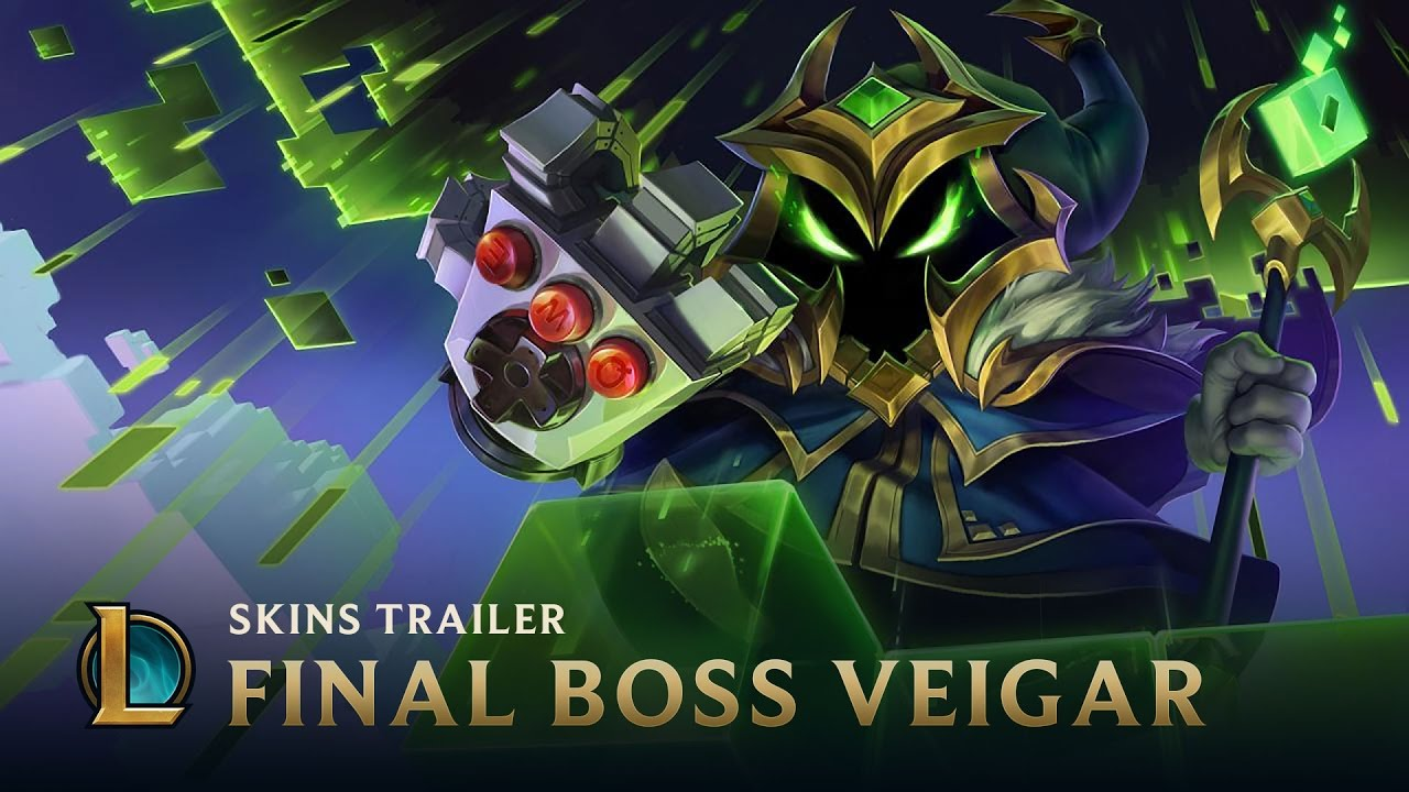 final boss veigar skins trailer league of legends