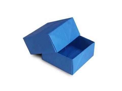 Cách gấp, xếp hộp quà tặng vuông dày bằng giấy origami - Video hướng dẫn