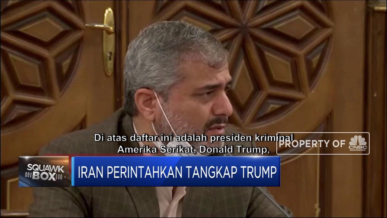 Iran Perintahkan Tangkap Trump