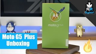 Moto G5 Plus Unboxing and Hands On
