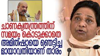 പക്വമായ രാഷ്ട്രീയ നീക്കം ബിജെപിയെ പൂട്ടി -mayawati