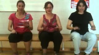 Percussió corporal cançó Mangwane mpulele
