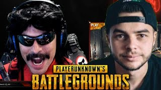 """DrDisRespect and NADESH0T'S """"FIRST EVER WIN"""" on PUBG!"""