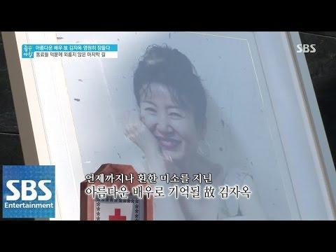 배우 김자옥, 영원히 잠들다 @좋은 아침 141120