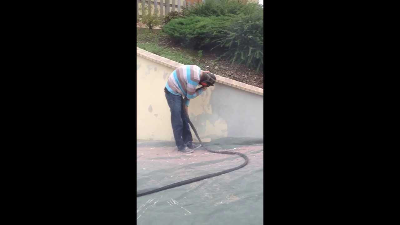 A rogommage sur cr pi youtube - Nettoyer un mur exterieur ...