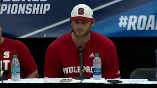Press Conference: NCAA Regionals NC State vs Army Game 2 thumbnail