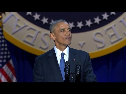 President Barack Obama's Farewell Address | ABC...