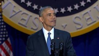 President Barack Obama's Farewell Address | ABC News