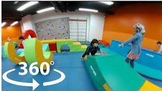 360 Video Indoor Playground | Family Fun for Kids Play Playroom Pool Balls | The Childhood Life 4