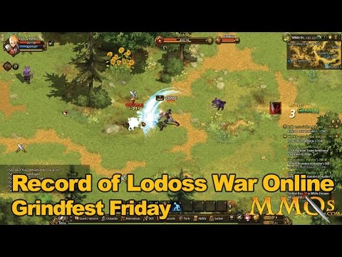 Record of Lodoss War Online Gameplay Grindfest Friday - MMOs.com