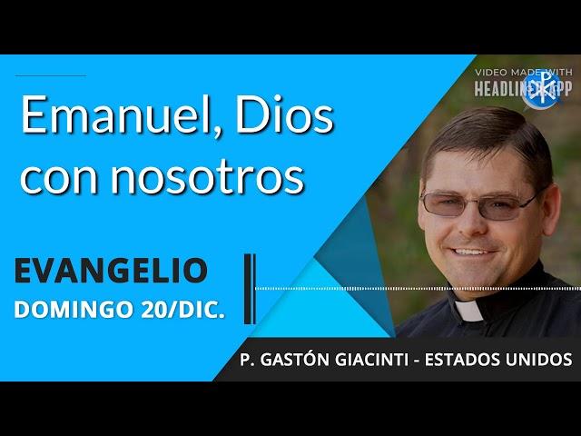 Evangelio de hoy domingo 20 de diciembre de 2020
