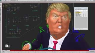 The President is Rigged- Trump 3ds Max Rig Demo