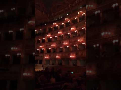La Fenice - Venetian Opera House. Venice, Italy. February 2016
