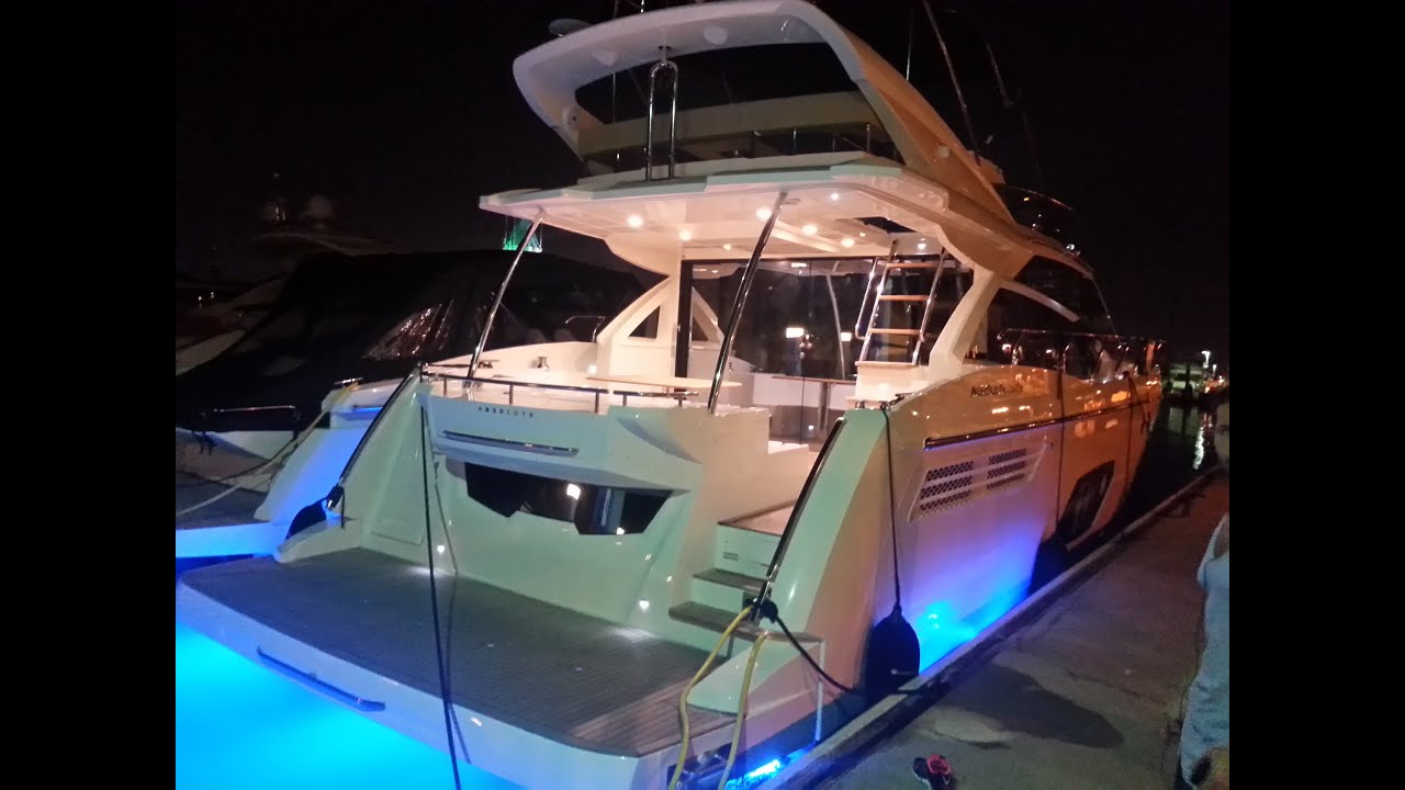 Absolute 52 FLY 2015 Yacht For Sale YouTube