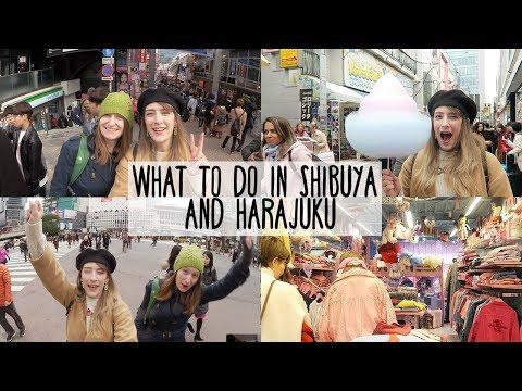 What to do in Harajuku & Shibuya ✨