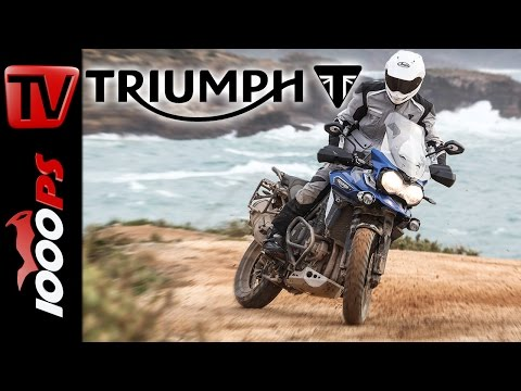 Triumph Tiger Explorer Test 2016 - Onroad und Offroad | BMW GS-Killer? (English Subtitles)