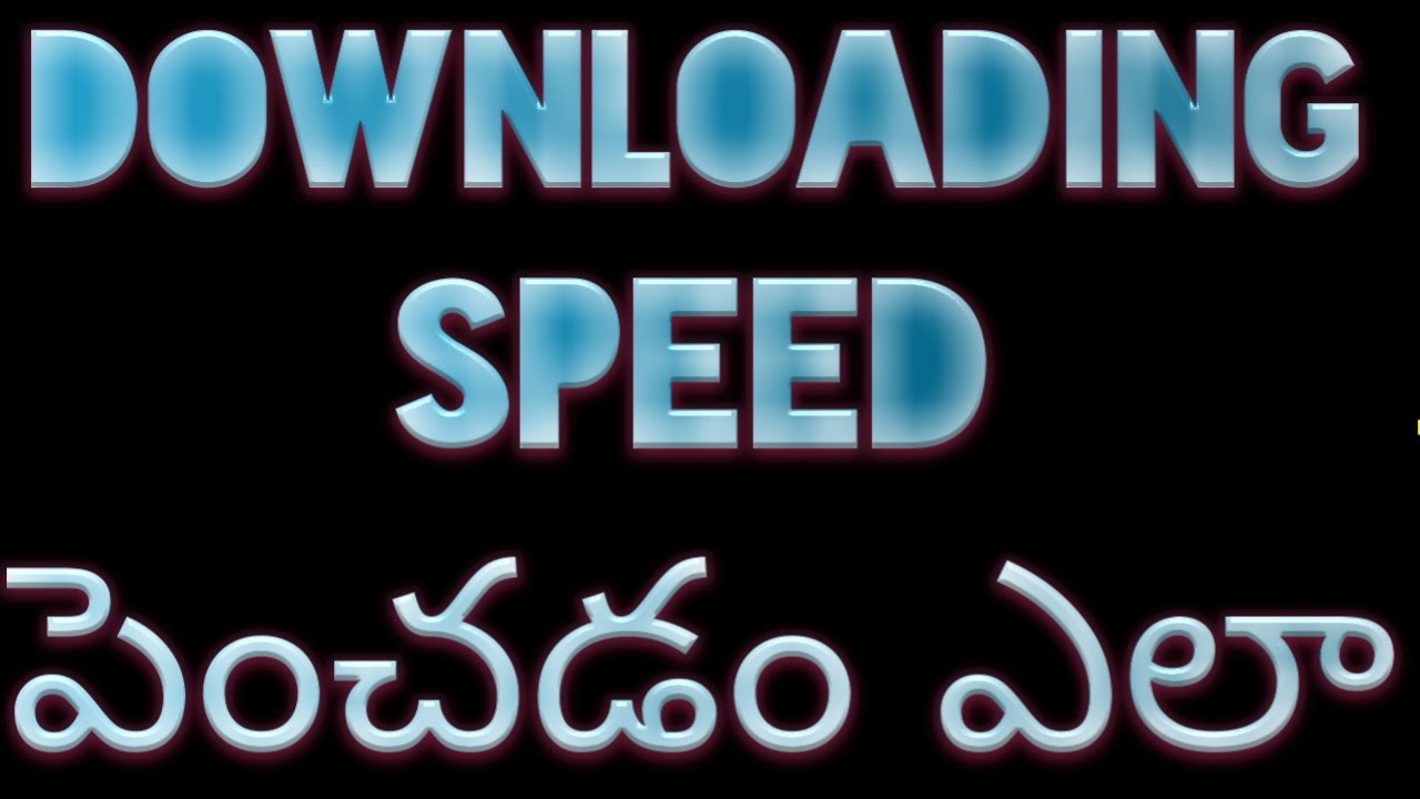 how to increase youtube download speed