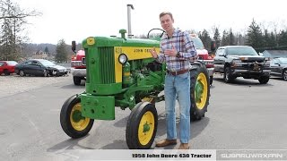 Review: 1958 John Deere 430 Tractor (April Fool's Special)