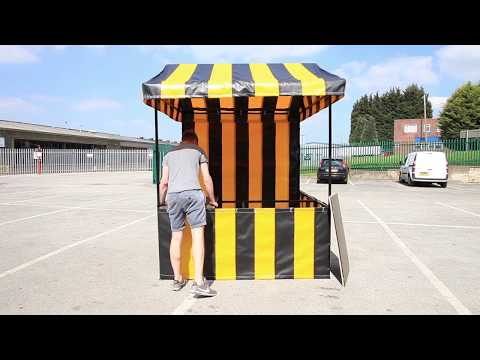 How To Build A Market Stall On Your Own In 60 Seconds