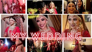 My wedding vlog || finally  married ❤️|| shystyles vlog