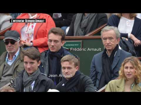 L'interview : Bernard Arnault - Stupéfiant !